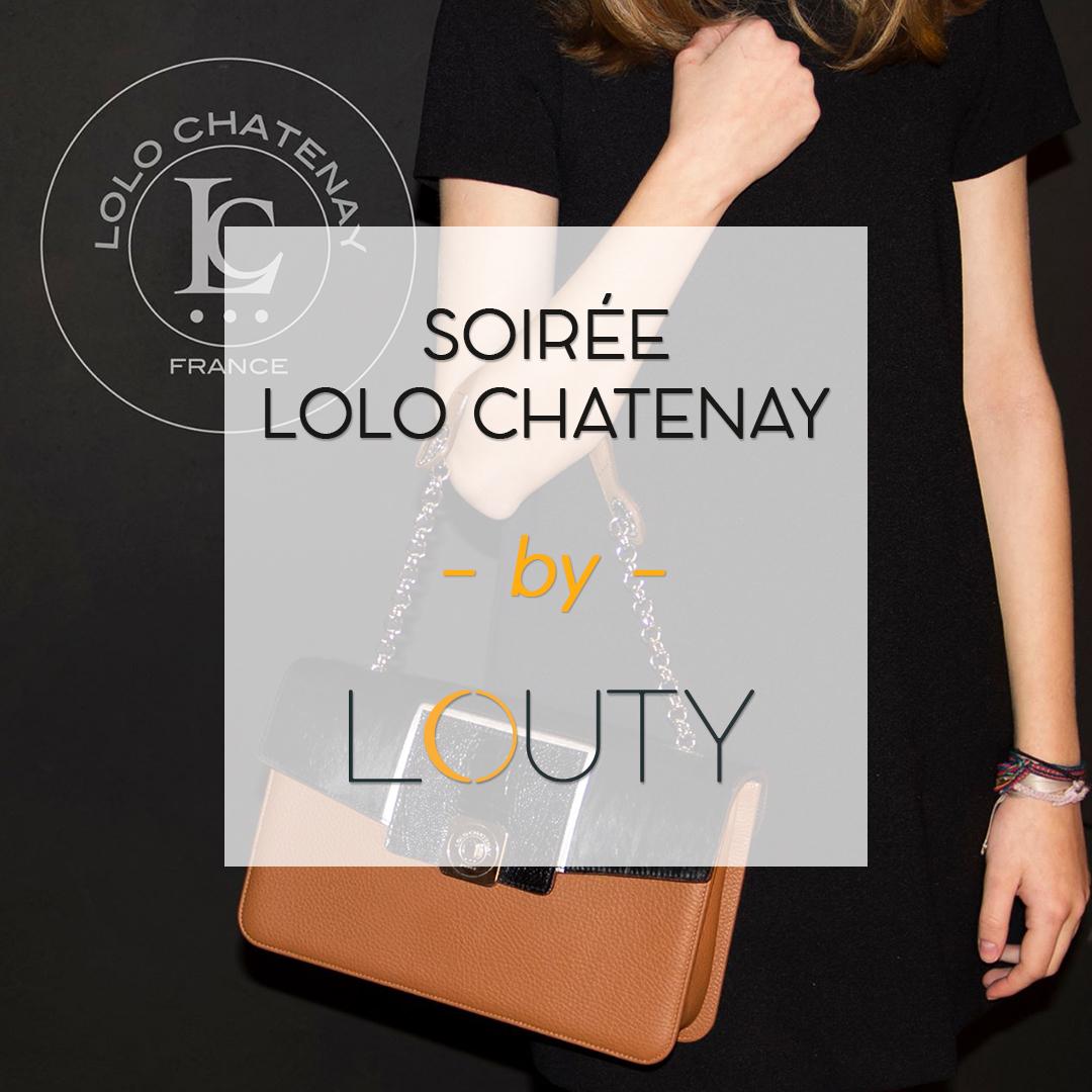 Soirée dessiner son sac lolo chatenay idéal chez LOUTY