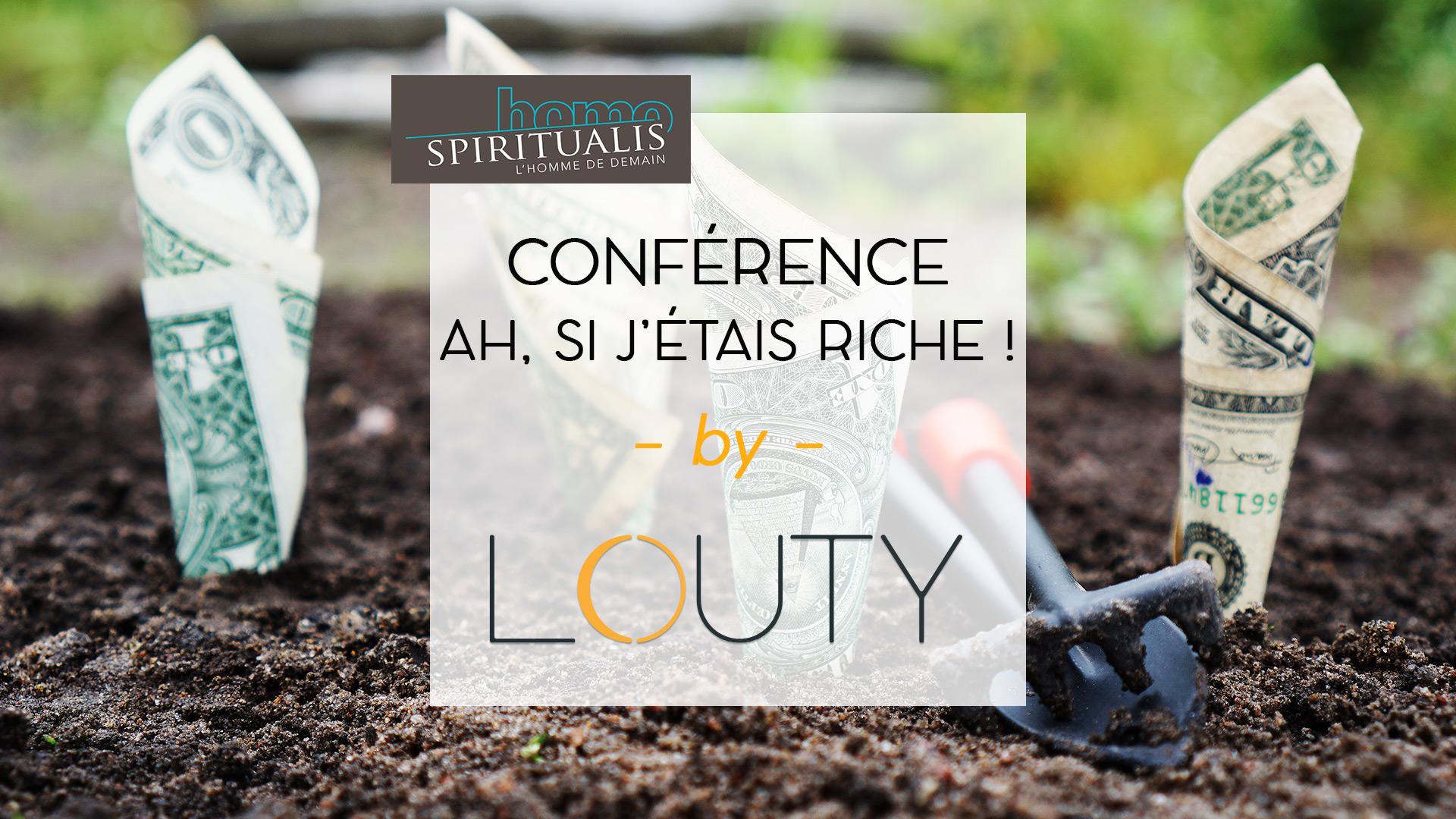 Conférence chez LOUTY de Yann-Erik Bourgeois homo spiritualis