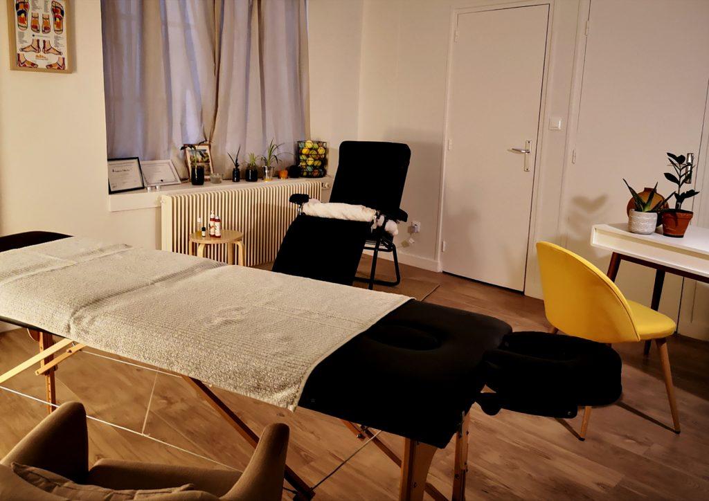 Salle de massage sur Lyon