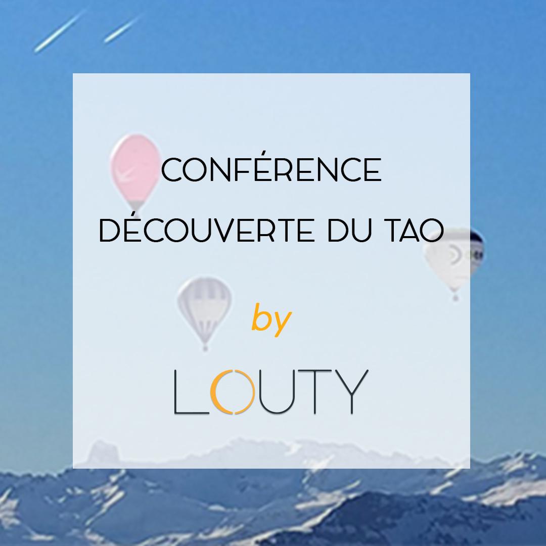 Conférence sur le tao et l'amour guérisseur chez LOUTY