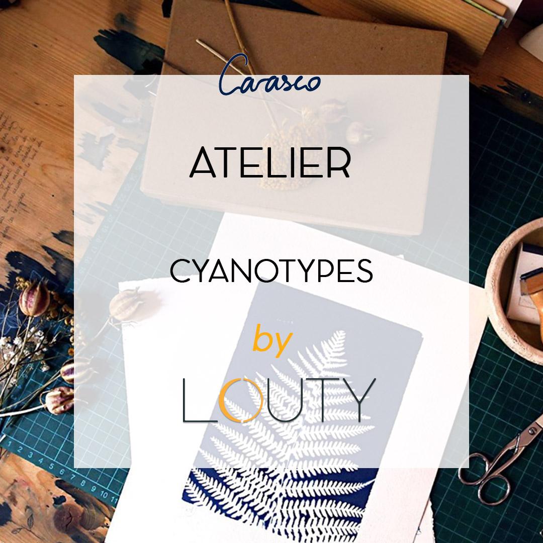 Atelier cyanotypes lyon carasco