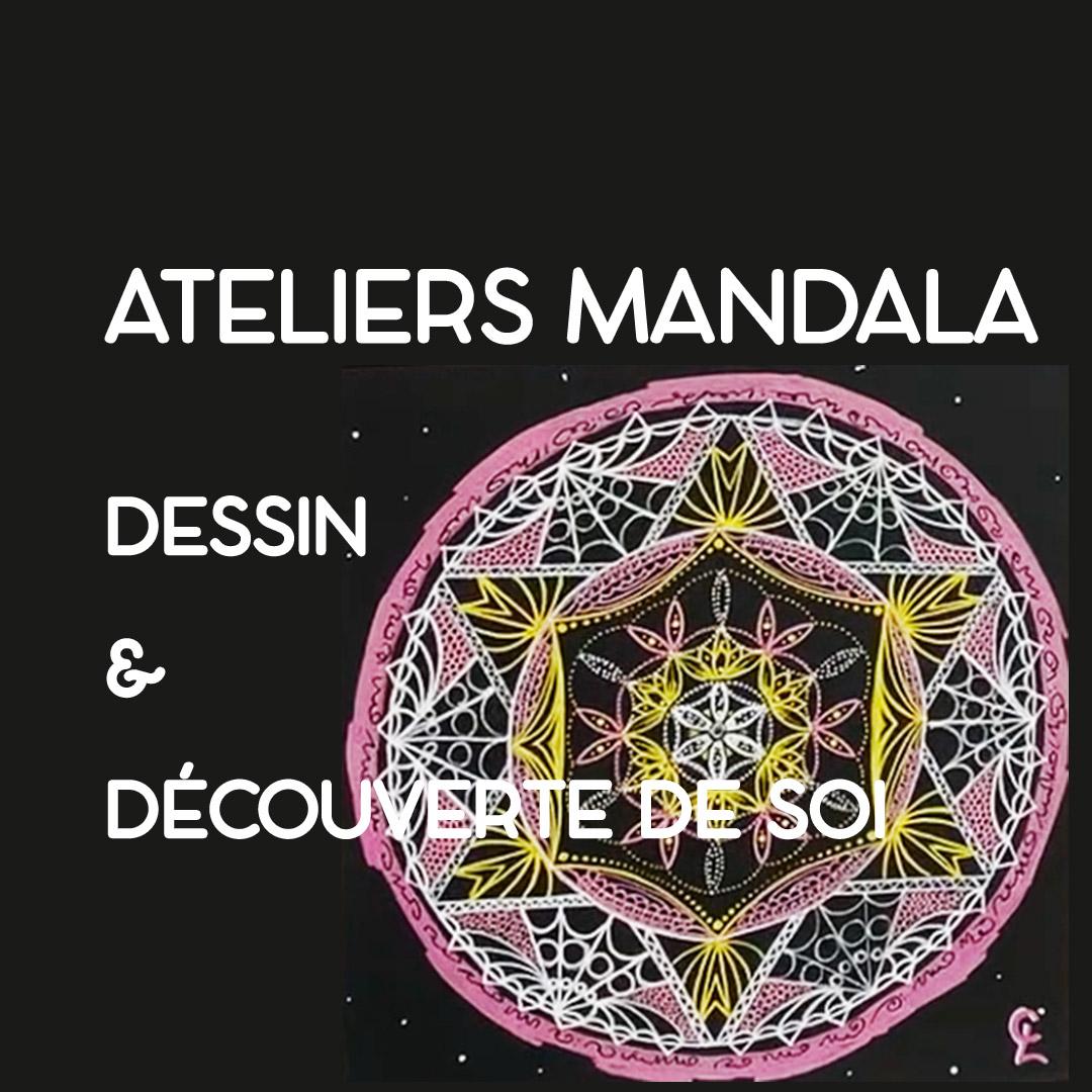 Mandala dessin et découverte de soi Lyon