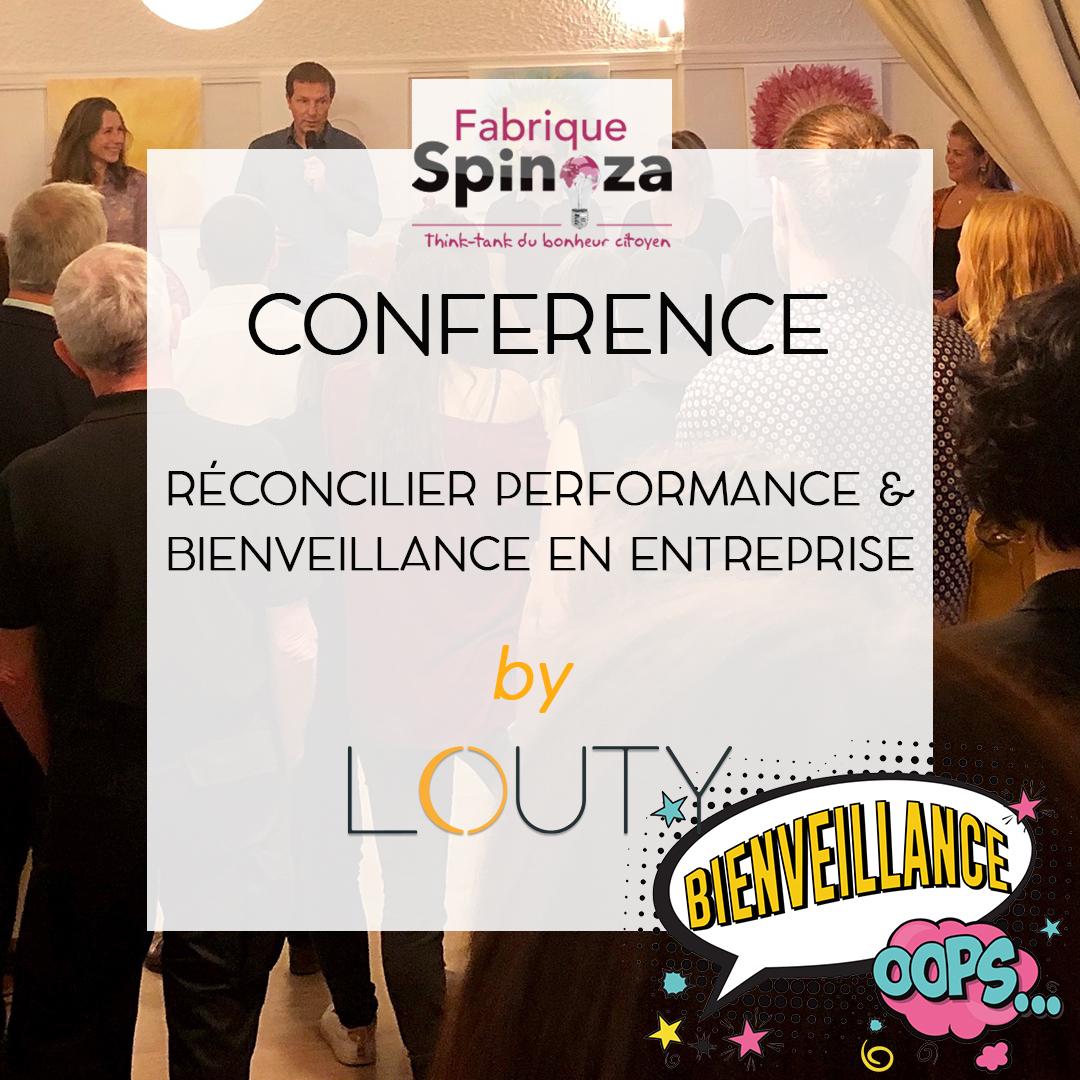 Conférence débat performance bienveillance