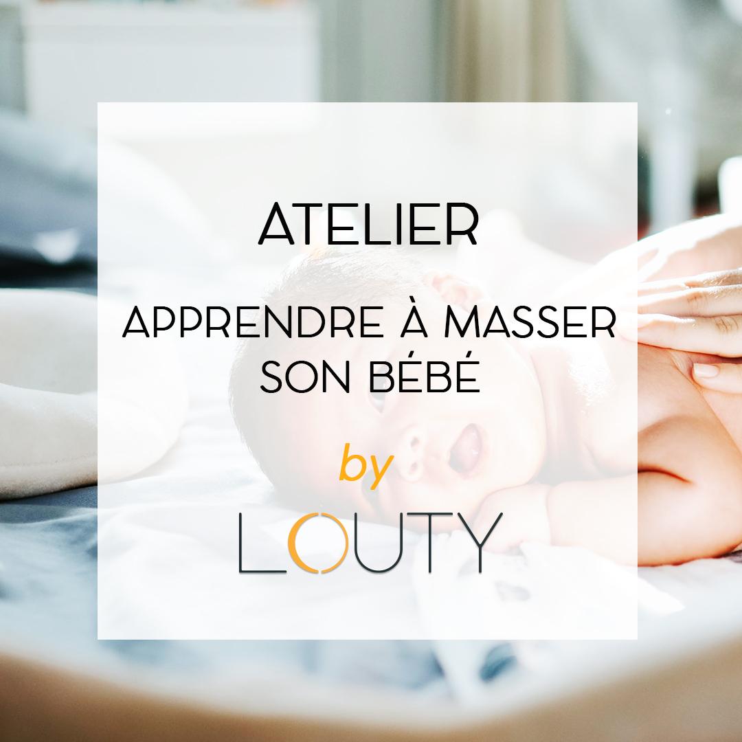 apprendre massage bebe