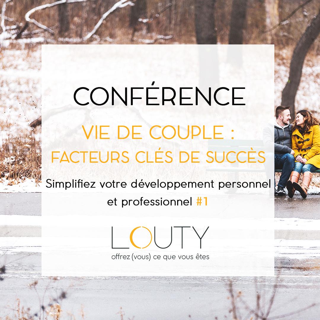 Conférence simplifier son developpement personnel